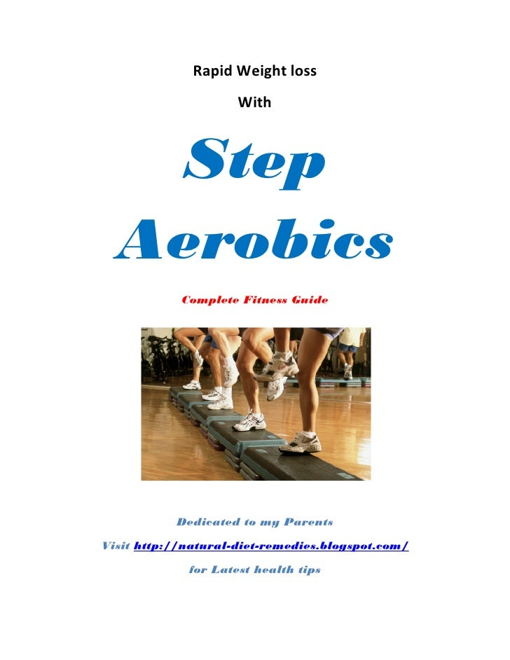 Rapid weight loss with step aerobics