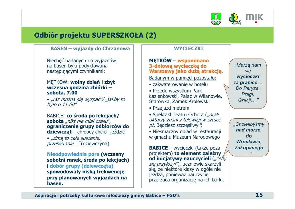 program ochrony rodowiska dla gminy babice - Biuletyny