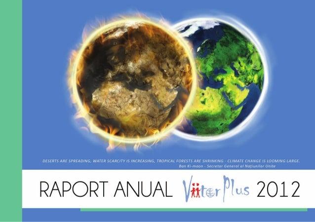 Raport anual ViitorPlus 2012