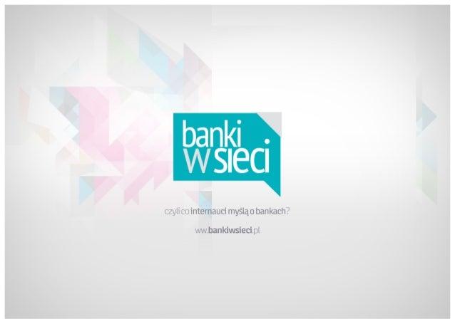 Banki w sieci - raport
