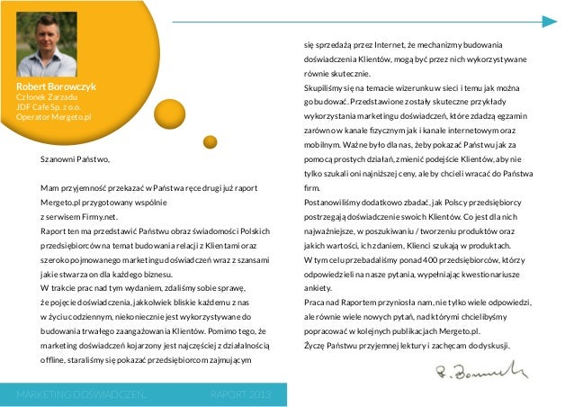 Raport marketing doswiadczen_2013 Slide 3