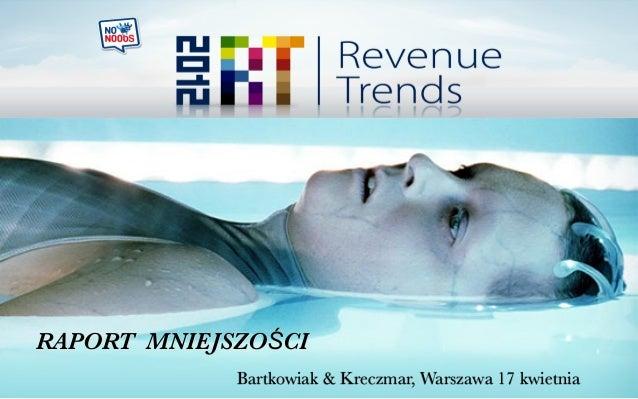 RAPORT MNIEJSZOŚCI Bartkowiak & Kreczmar, Warszawa 17 kwietnia