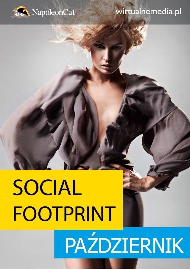 SOCIAL  FOOTPRINT  PAŹDZIERNIK