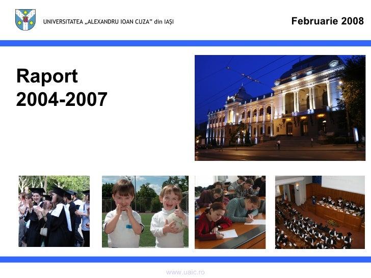 Raport 2004-2007