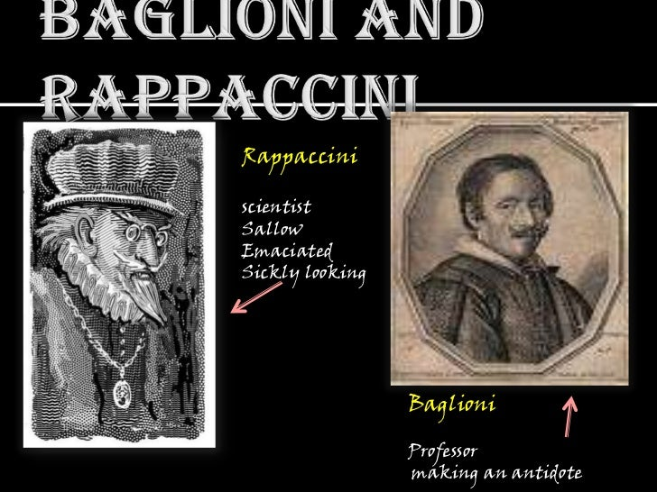 rappaccini s daughter poisonous beatrice Allegory in rappaccini's daughter  beatrice is the pure and innocent but poisonous daughter of rappaccini she symbolizes eve  hawthorne uses dante's .