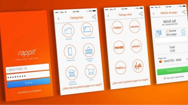 rappit ® / mobile payments UI/UX II