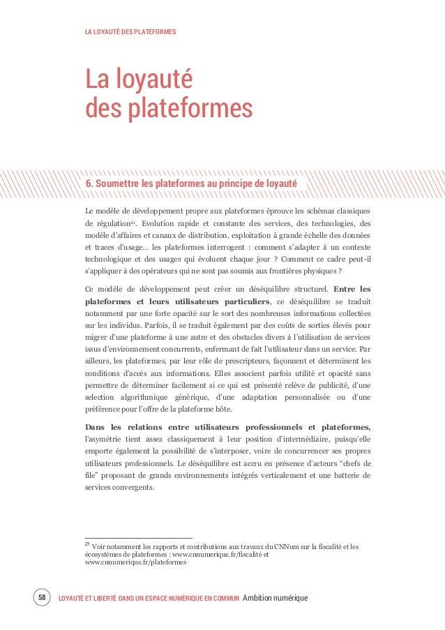Rapport Ambition numérique