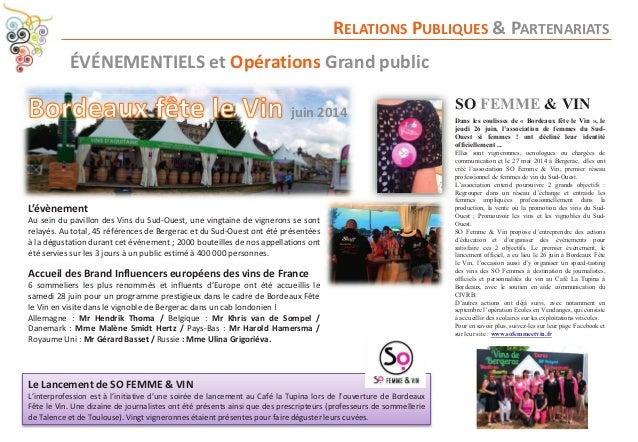 Civrb rapport d 39 activit 2013 2014 - Telematin cuisine karine ...