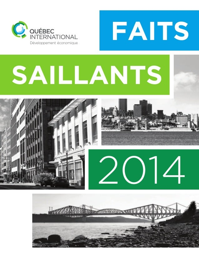SAILLANTS 2014 FAITS