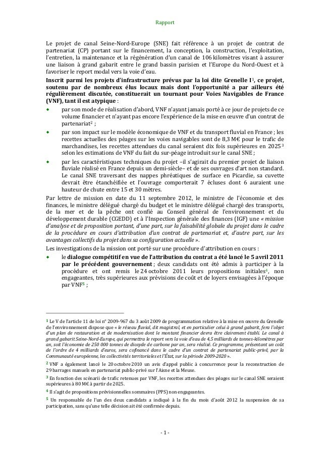 Rapport canal-seine-nord-europe Slide 2