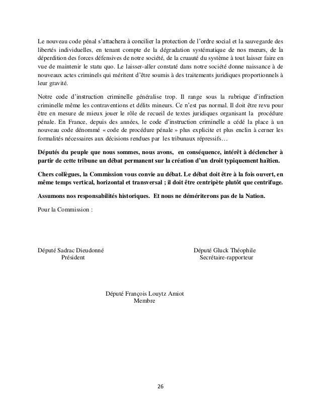 Deces juge jean serge joseh rapport commission d 39 enquete for Portent of degradation