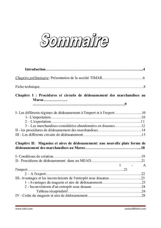 Rapport de-stage-sur-transport-international-transit-et ...