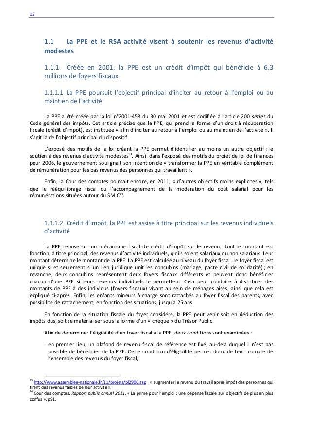 Rapport de christophe sirugue depute de saone et loire 1 - Plafond revenu fiscal de reference 2014 ...