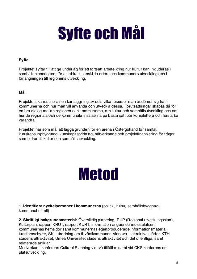 skriva rapport exempel