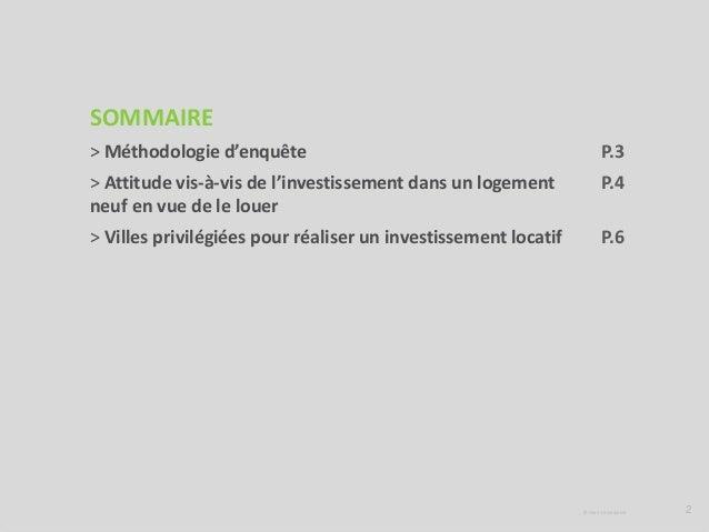 Le regard des Français sur l'investissement locatif Slide 2