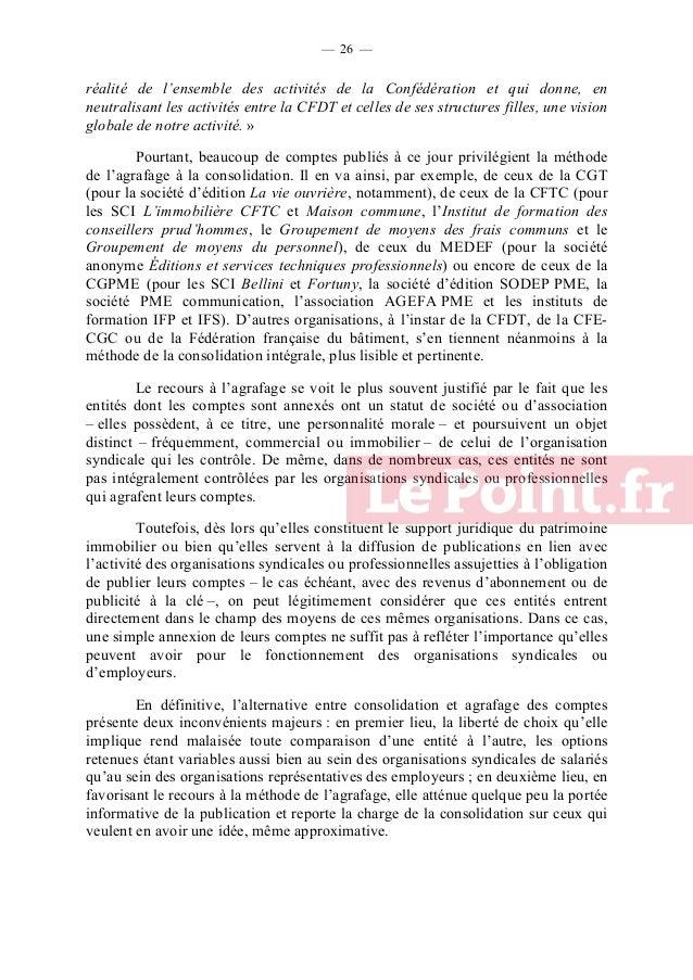 — 27 —  C. UNE DEMARCHE COMPLIQUEE PAR LA MULTIPLICITE DES CANAUX DE FINANCEMENT  L'évaluation des financements à destinat...