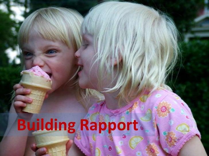 Building Rapport<br />