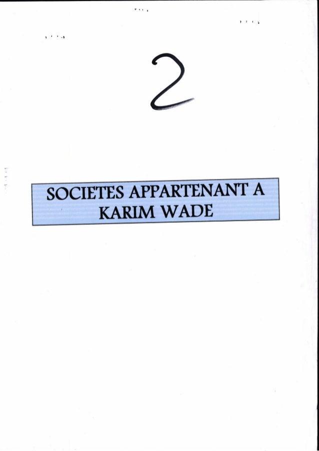 Rapport sociétés appartenant à kw