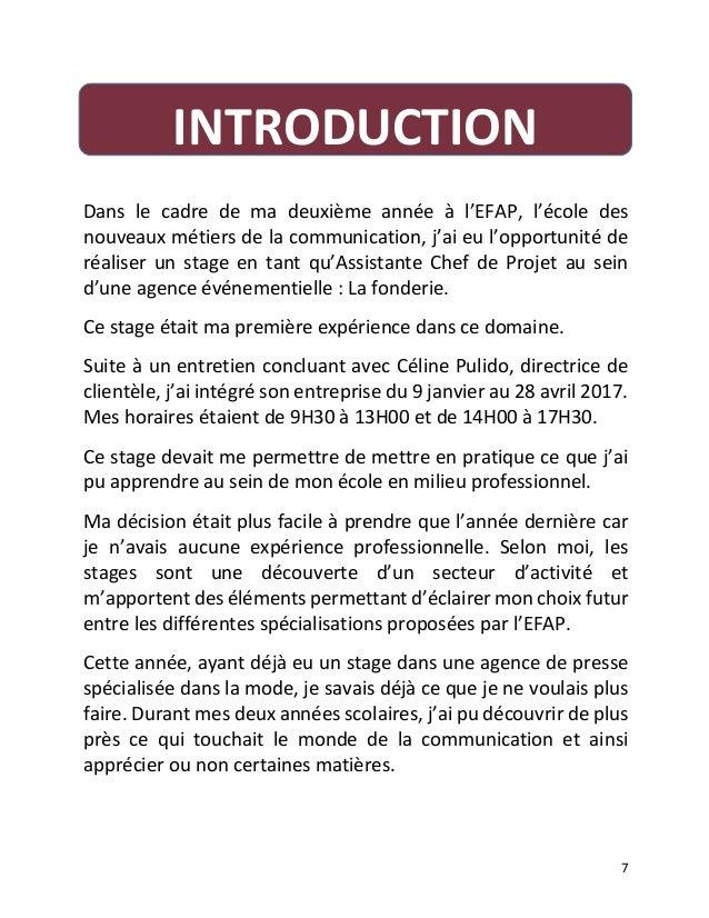 Rapport De Stage En Maison Retraite Introduction | Ventana ...