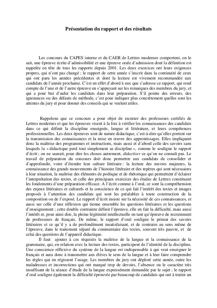 ÉPREUVE DE DIDACTIQUE                             Rapport présenté par Dominique Maillard         Définie dans le Bulletin...