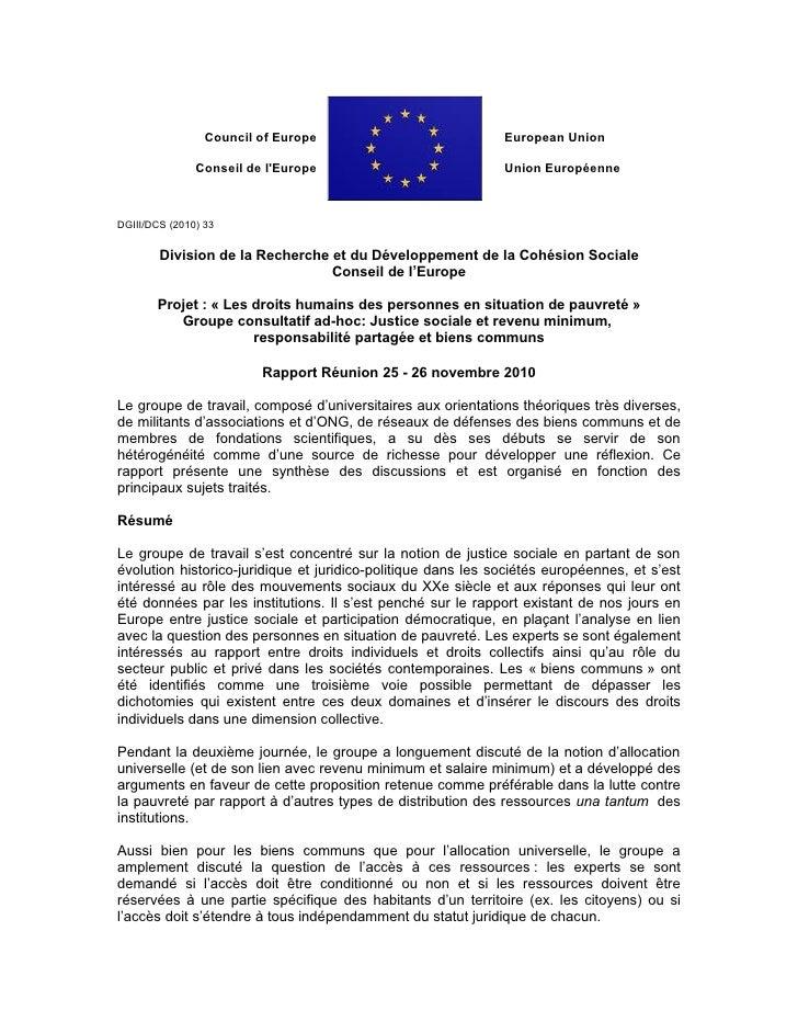 Rapport 25 26 novembre fr