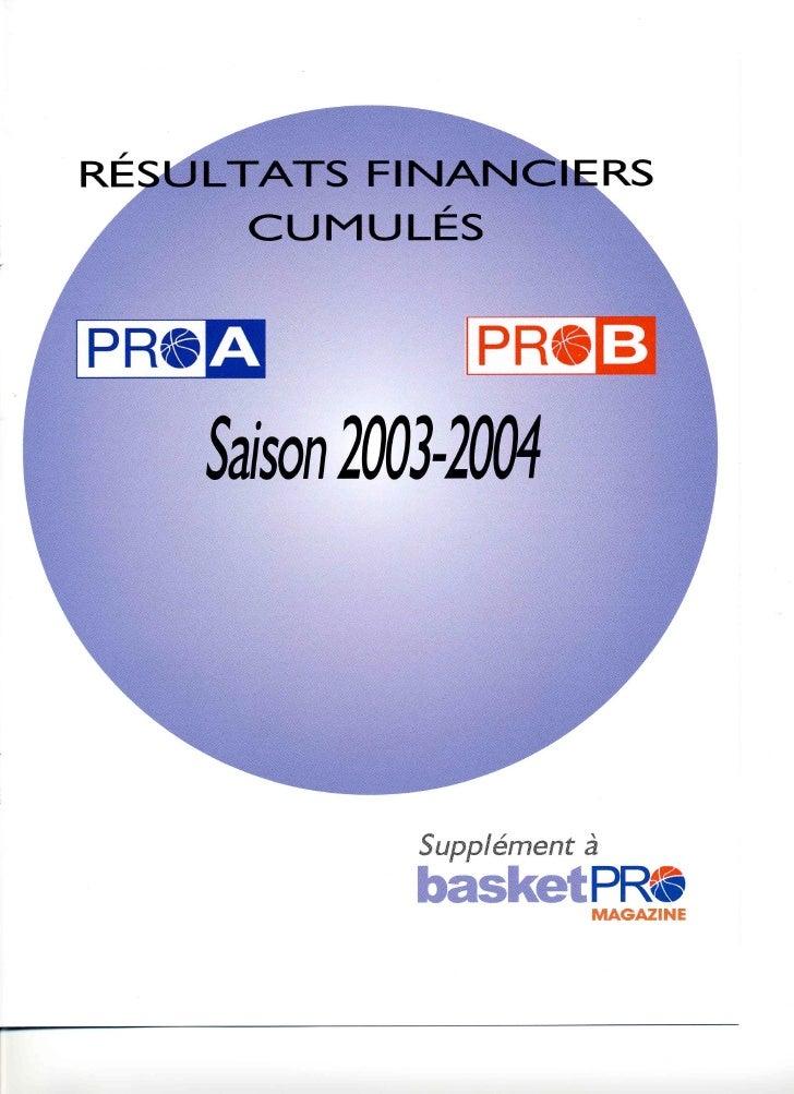 Rapport d'activite 2003-2004