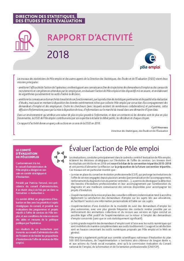 Rapport D Activite 2018