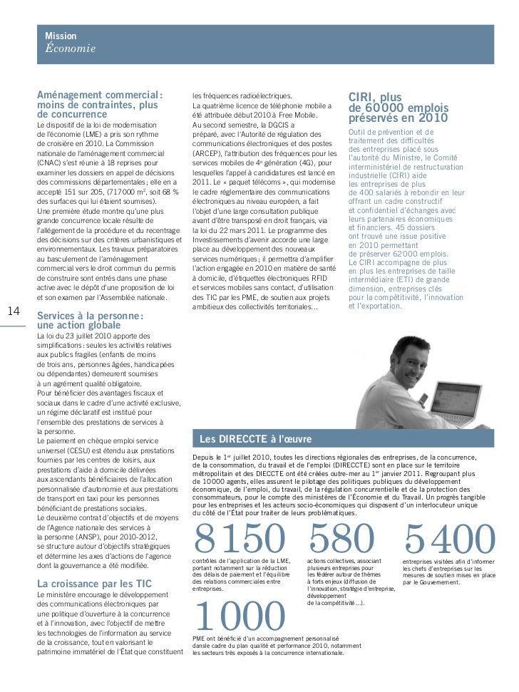 mission       Économie     Aménagement commercial :                           les fréquences radioélectriques.            ...