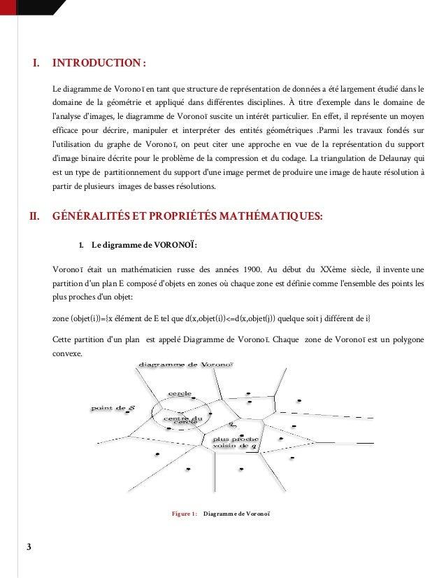 Diagramme De Vorono U00cf Et Triangulation Delaunay