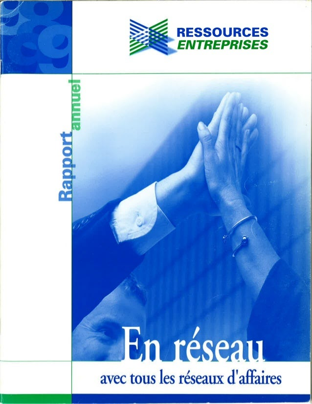 Rapport annuel 1998 1999