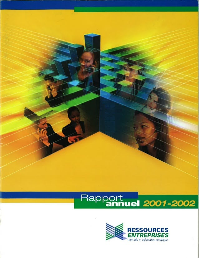 Rapport annuel 2001 2002