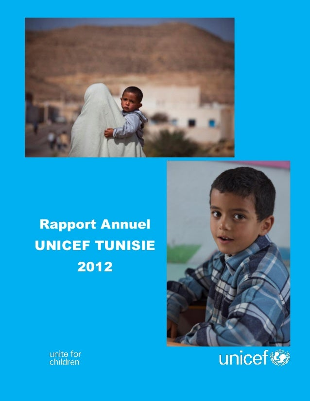 Page | 0  Rapport Annuel  UNICEF TUNISIE  2012