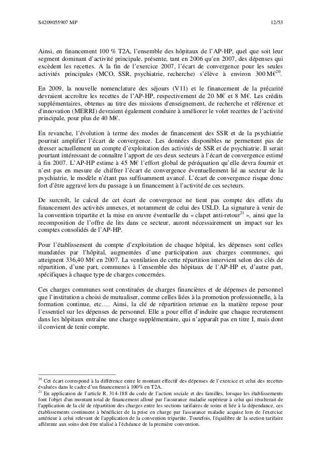 Rapport de la chambre r gionale des comptes d 39 ile de - Chambre regionale des comptes recrutement ...