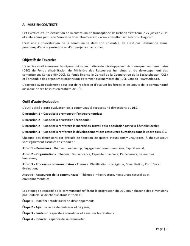 Page  |  3        A  -‐  MISE  EN  CONTEXTE   Cet  exercice  d'auto-‐évaluation  de  la  c...