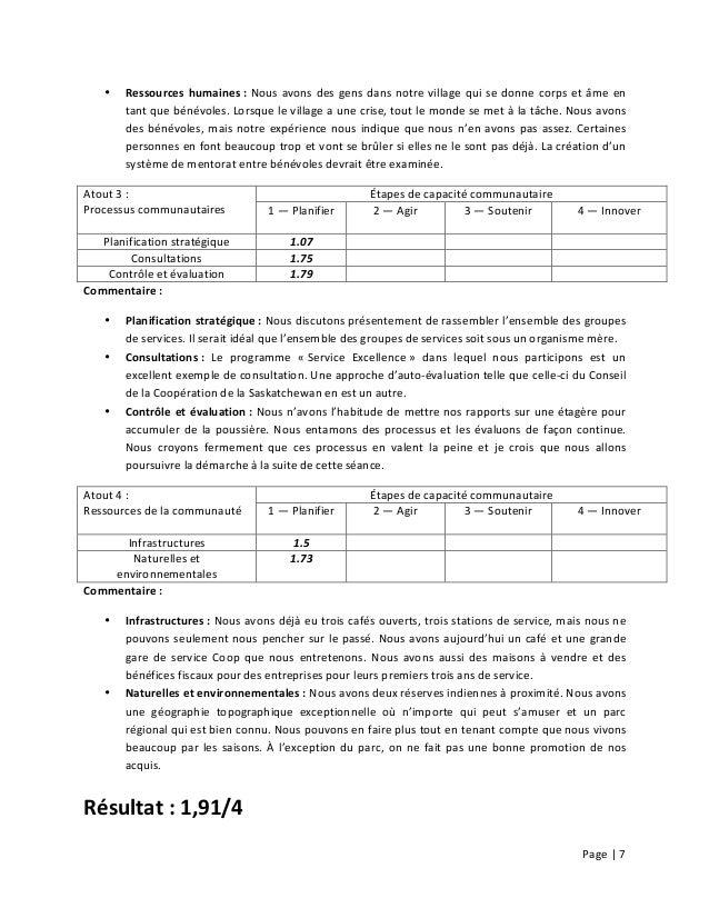 Page  |  7        • Ressources  humaines  :  Nous  avons  des  gens  dans  notre  village  q...