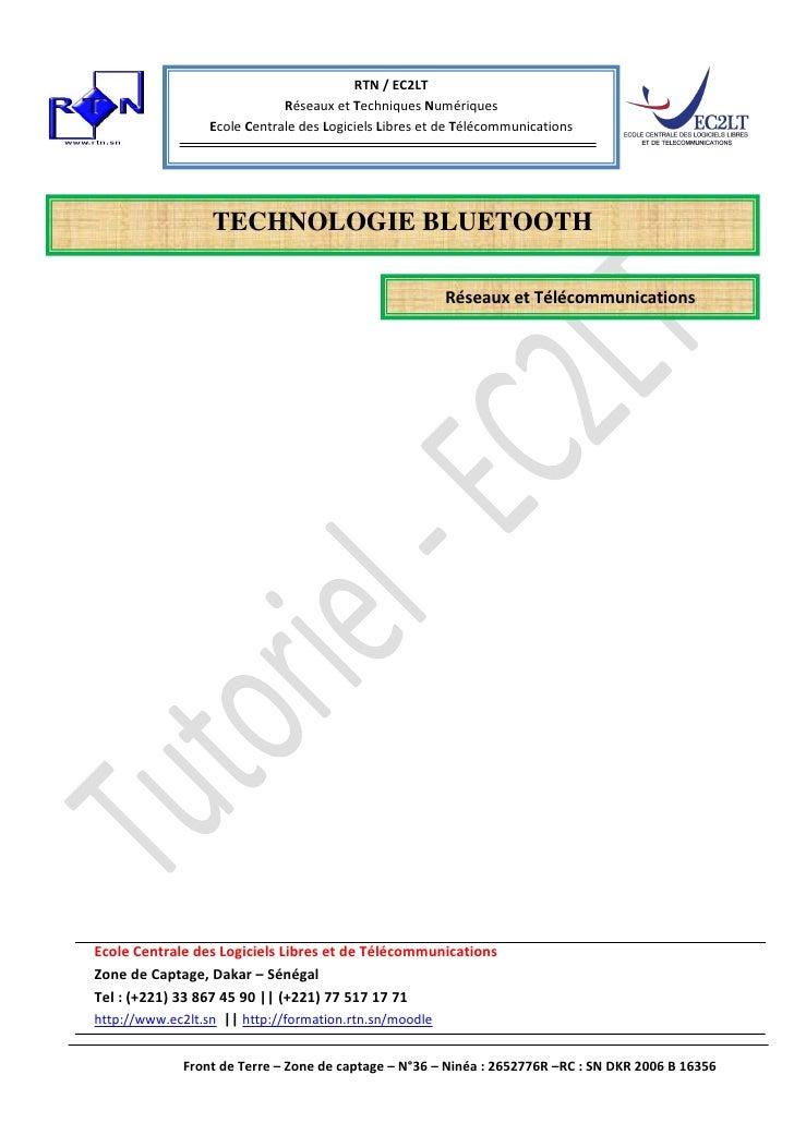 RTN / EC2LT                             Réseaux et Techniques Numériques                 Ecole Centrale des Logiciels Libr...
