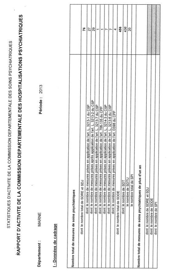 Rapport cdsp   marne - 21 - année 2012