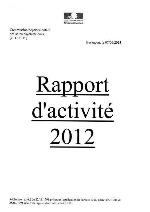 Rapport cdsp doubs   2012