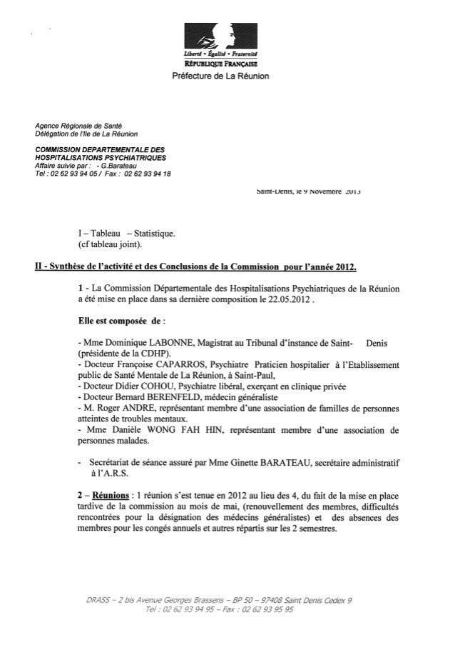 Rapport cdsp la réunion   2012