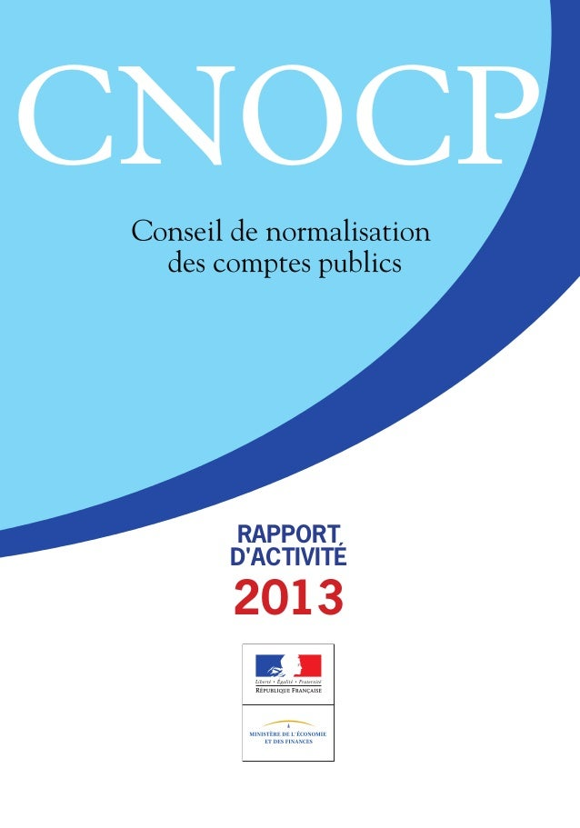 RAPPORT D'ACTIVITÉ 2013 CNOCP