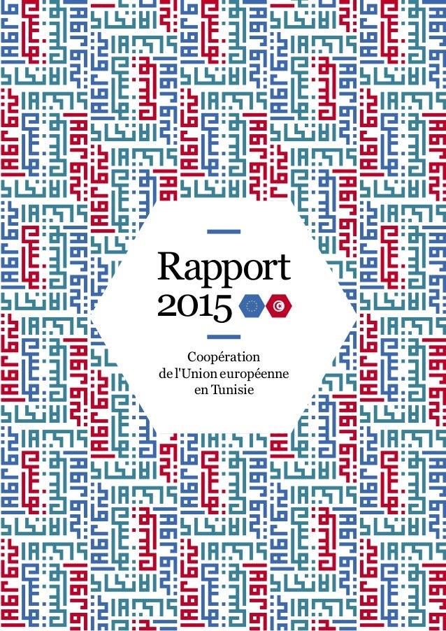 Coopération de l'Union européenne en Tunisie Rapport 2015