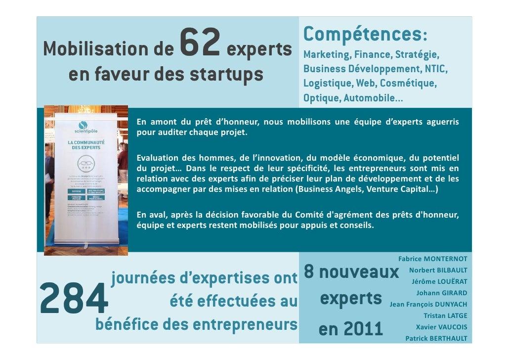 Mobilisation de     62                    experts                                                  Compétences:           ...