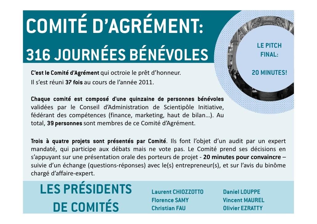 COMITÉ D'AGRÉMENT:                                                                                 LE PITCH316 JOURNÉES BÉ...