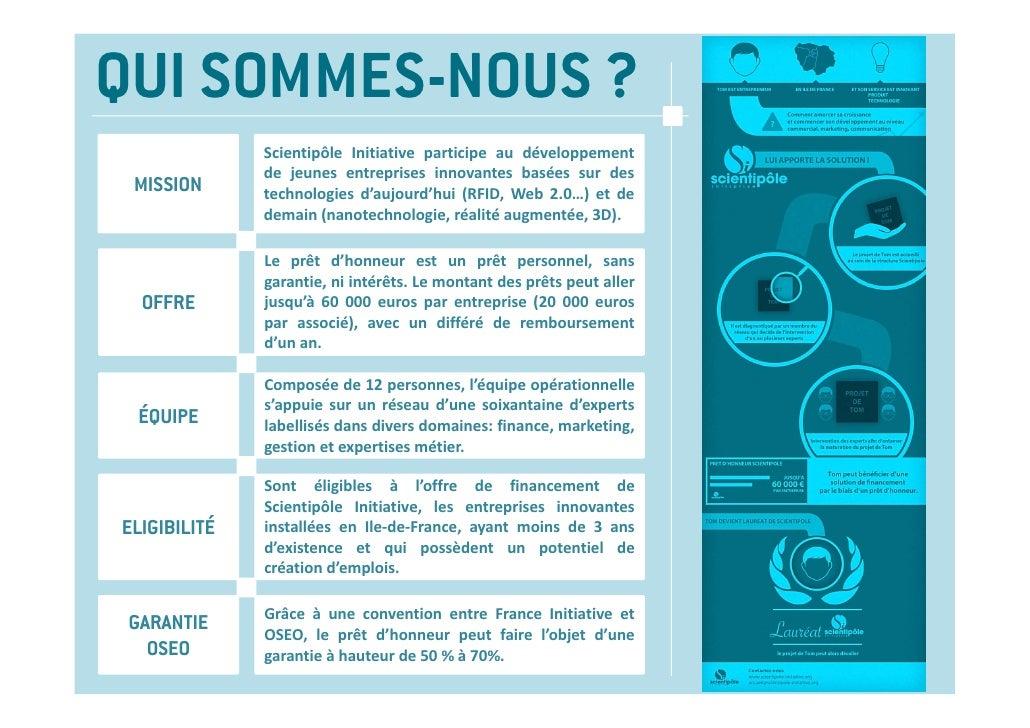 QUI SOMMES-NOUS ?              Scientipôle Initiative participe au développement              de jeunes entreprises innova...