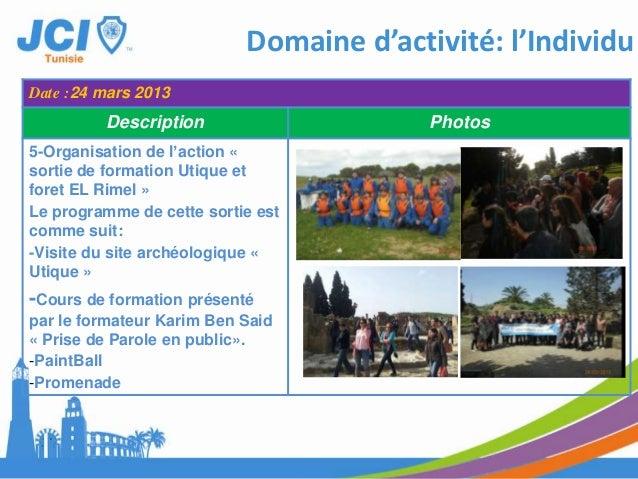Domaine d'activité: l'IndividuDate :09 avril 2013Description Photos6- Participation du PresidentMohamed Haouel, le VPFDAhm...