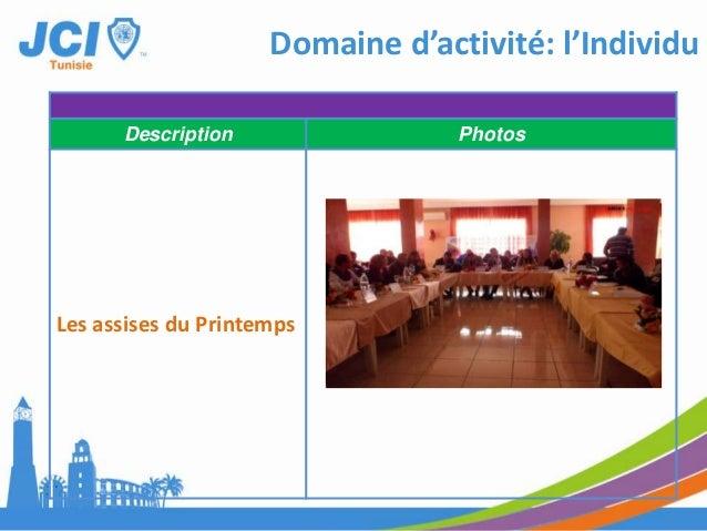 Domaine d'activité: CommunautéDate : Samedi et dimamnche 20 et 21 Avril 2013Description PhotosFichta II : un événementtour...