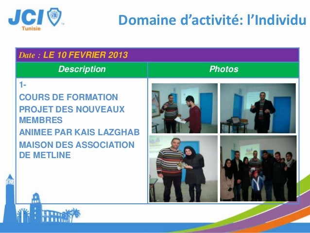 Domaine d'activité: AffaireDate : LE 25 JANVIER 2013Description Photos1-SIGNATURECONVENTION AVECCENTRE DE FORMATIONOMEGAAU...