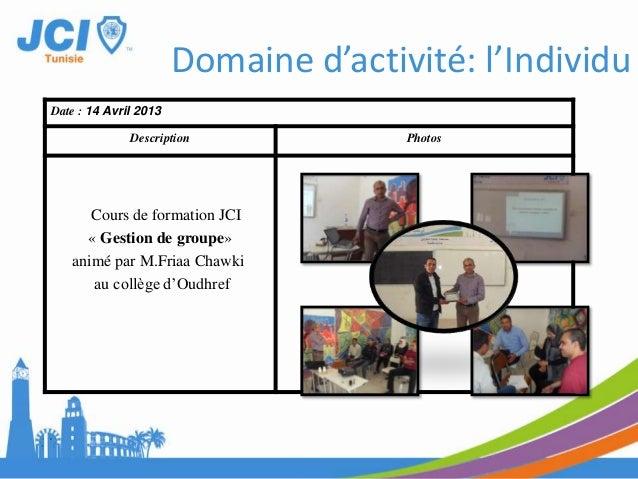 Date : 10 Mars 2013Description PhotosExcursionNabel et Hammamet.Domaine d'activité: Communauté