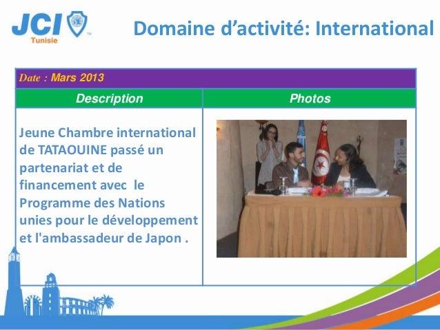 Date : Le 25 et 26 Mars 2013Description Photos1- Participation deprésident Mohamed NASRIau forum Anna Lindth àSousse.Domai...