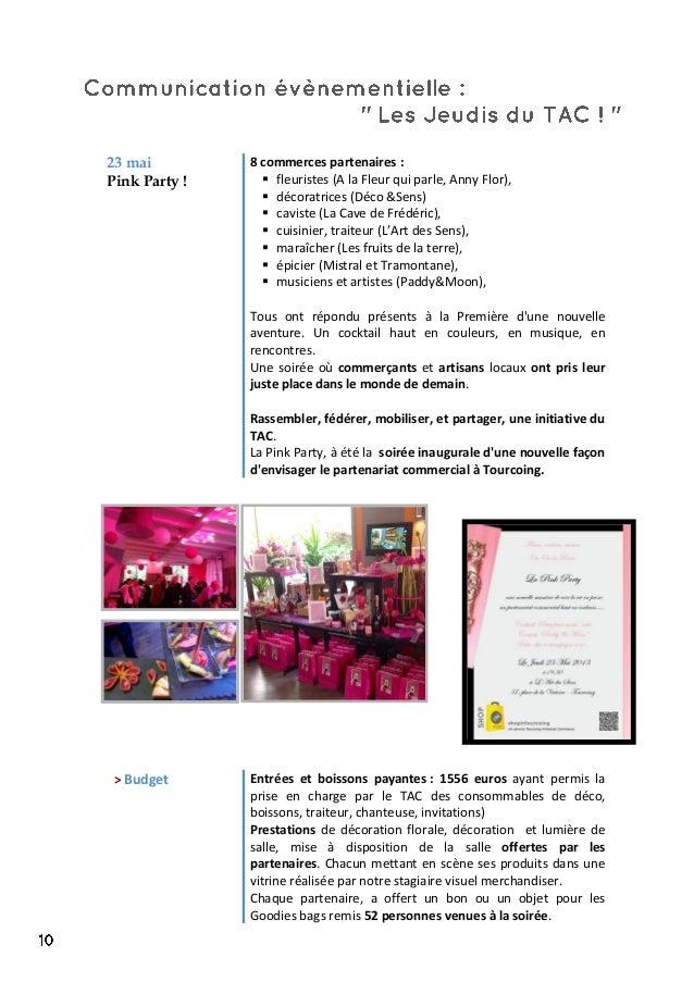 23 mai Pink Party ! 8 commerces partenaires :  fleuristes (A la Fleur qui parle, Anny Flor),  décoratrices (Déco &Sens) ...